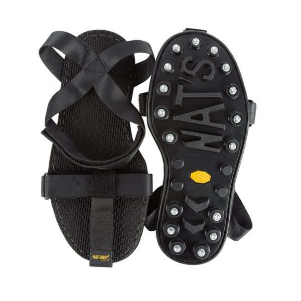 Snowgrabbers with strong antislip rubber outsole and steel studs | NAT'S | G200