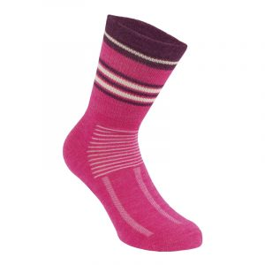 Merino socks for women | Pink | P&F Workwear | PF529