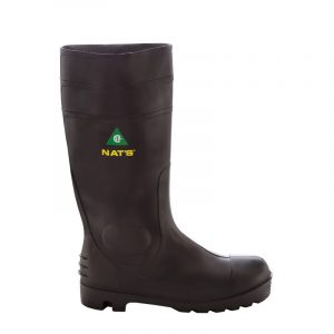 Men's PVC safety boots | Black | NAT'S | 1645