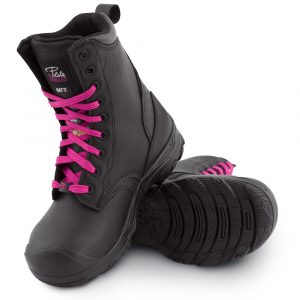 Waterproof work boots for women | Black | P&F Workwear | PF642