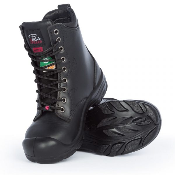 Work boots for women | Black | P&F Workwear | S552
