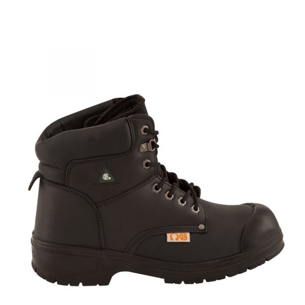 Men's work boots | Black | NAT'S | S310