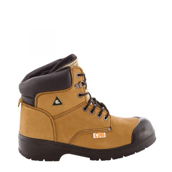 Men's work boots | Tan | NAT'S | S346