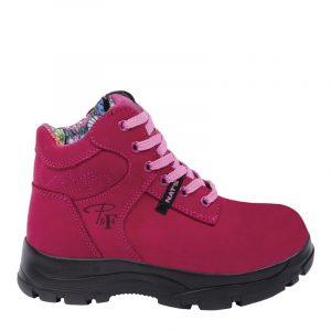 Botte de sécurité pour femme | Women's work boots | Pilote et Filles
