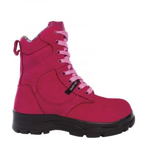 Work boots for women | Raspberry | P&F Workwear | PF688