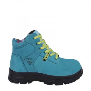 Work boots for women | Turquoise | P&F Workwear | PF686