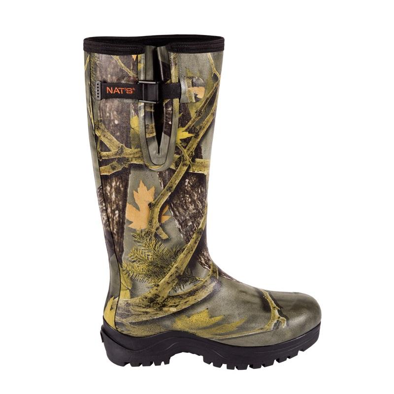 Botte en caoutchouc camouflage pour homme nat 39 s - Botte caoutchouc homme ...