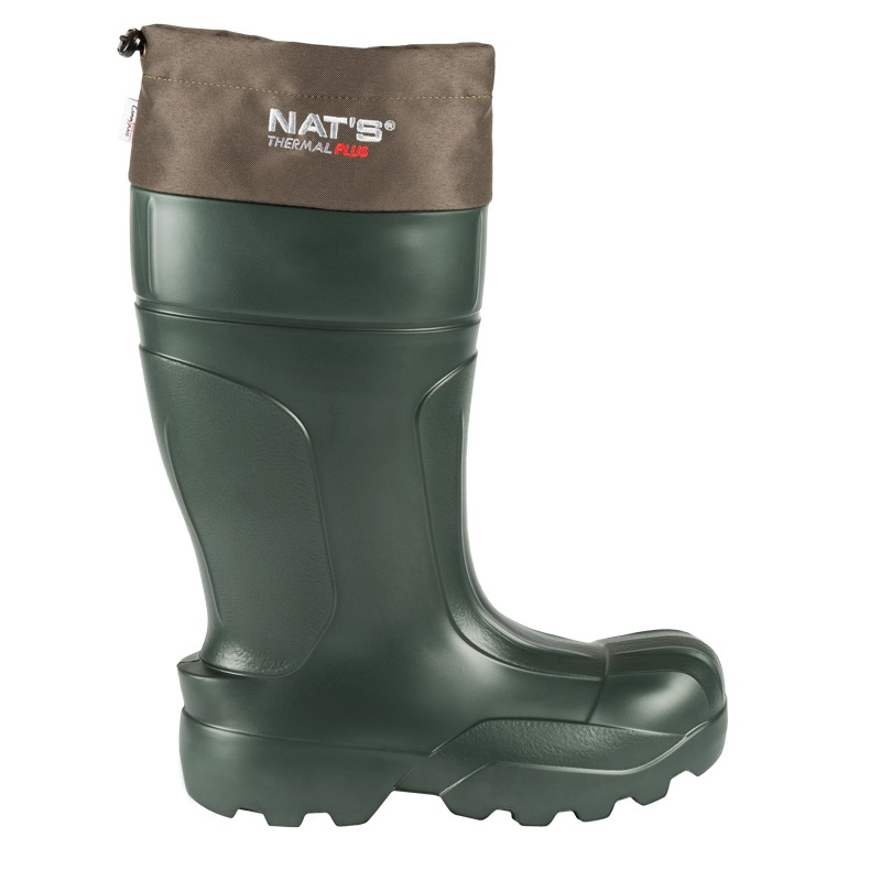 Men's EVA boots with thermal liner | Green | NAT'S | 1590