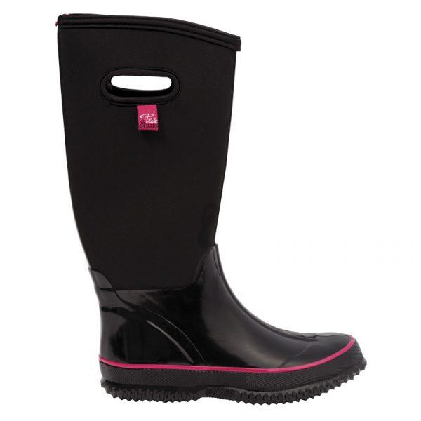 Botte de pluie en néoprène pour femme | Women's neoprene rain boots | Pilote et Filles
