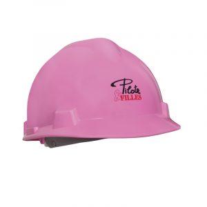 Casque de sécurité rose pour femme | Women's hard hats | Pilote et Filles