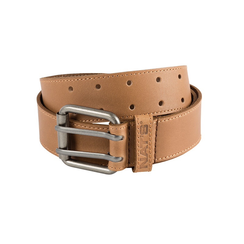 Leather belt for men | Brown | NAT'S | WC010