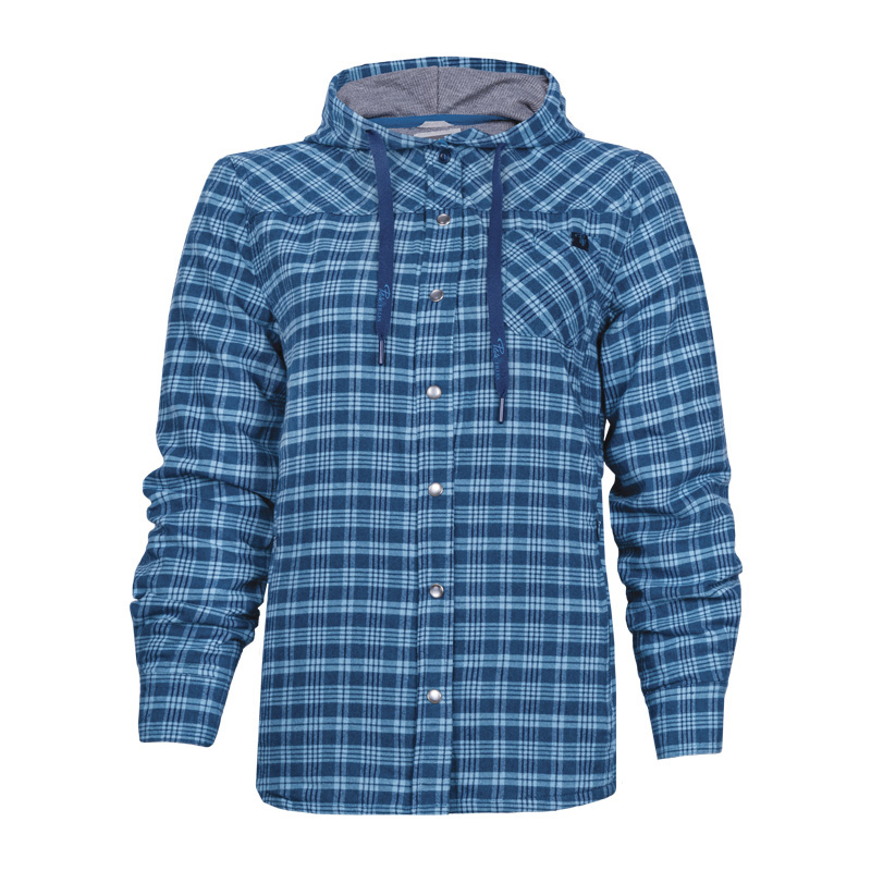 chemise de travail en flanelle pour femme pilote et filles par nat 39 s. Black Bedroom Furniture Sets. Home Design Ideas