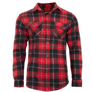 Chemise de travail homme |Rouge |NAT'S |WK040