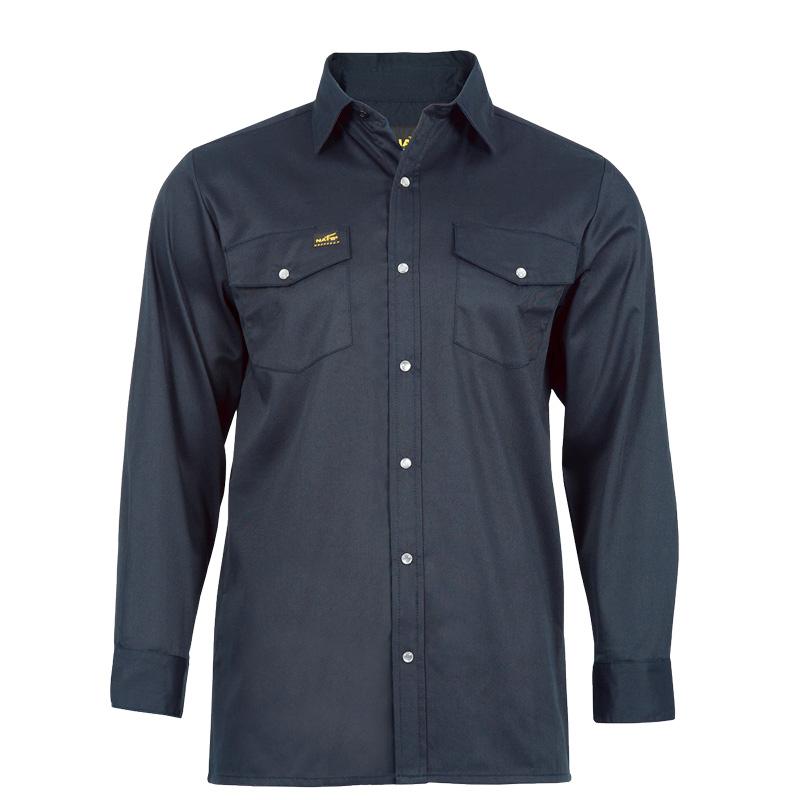 Chemise de travail homme |Marine |NAT'S |WR400