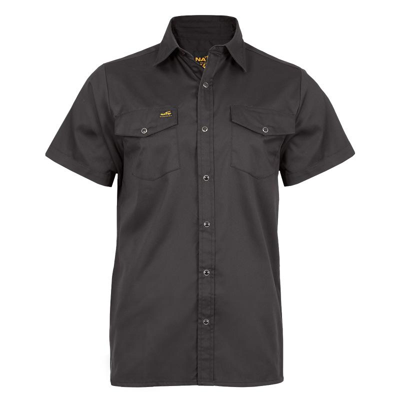 Chemise de travail homme |Noir |NAT'S |WR300