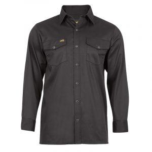 Chemise de travail homme |Noir |NAT'S |WR400