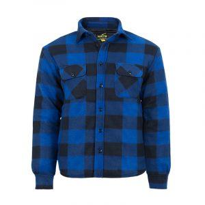 Chemise de travail isolée pour homme |Bleu |NAT'S |WK055