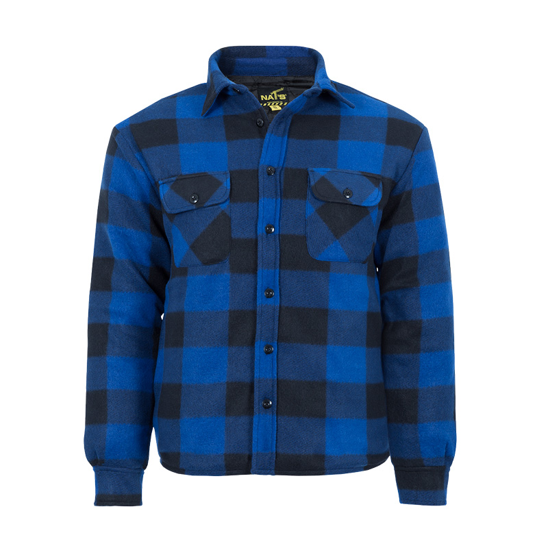 Men's insulated work shirt | Blue | NAT'S | WK055