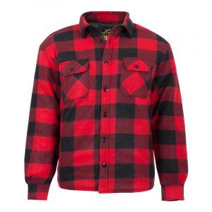Chemise de travail isolée pour homme |Rouge |NAT'S |WK055