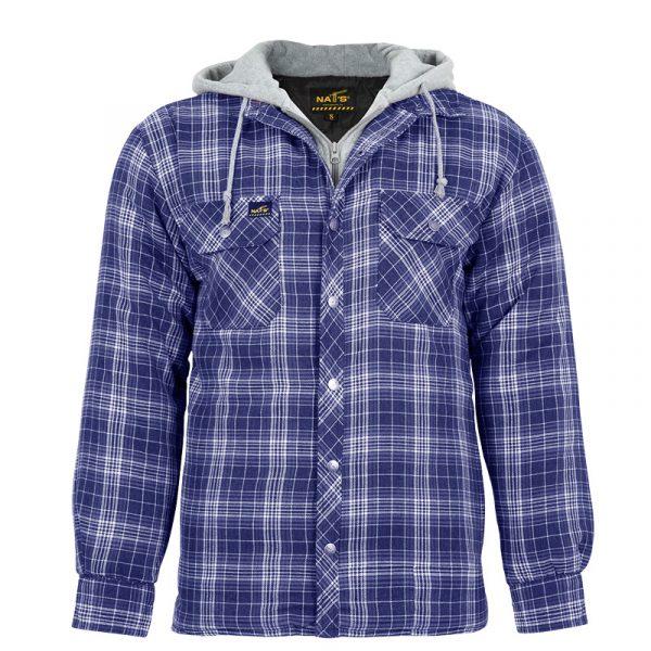 Chemise de travail isolée pour homme |Bleu |NAT'S |WK050