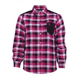 Chemise de travail rembourrée pour femme | Women's padded plaid work shirt | Pilote et Filles
