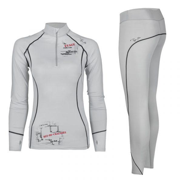Ensemble de sous-vêtements thermiques pour femme | Women's thermal underwear set | Pilote et Filles