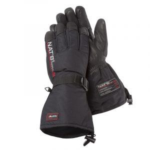 Gants de motoneige en cuir de chevreuil | Noir | NAT'S | M980
