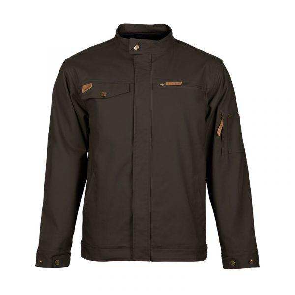 Manteau de travail extensible homme |Noir |NAT'S |WS617