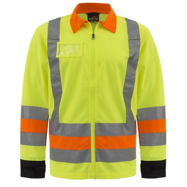 Manteau de signaleur haute visibilité | NAT'S | HV273J