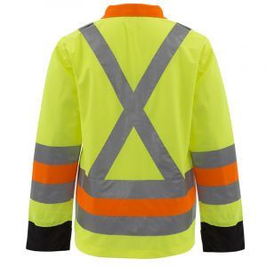 Flagman high visibility jacket with reflective stripes | NAT'S | HV273J