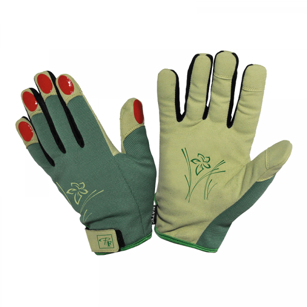 Gants de jardin pour femme | Vert | Pilote et Filles | PF065