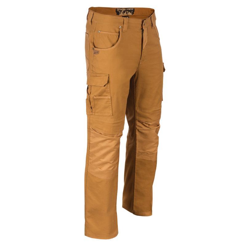 Pantalon de travail multi-poches homme |Camel |NAT'S |WS278