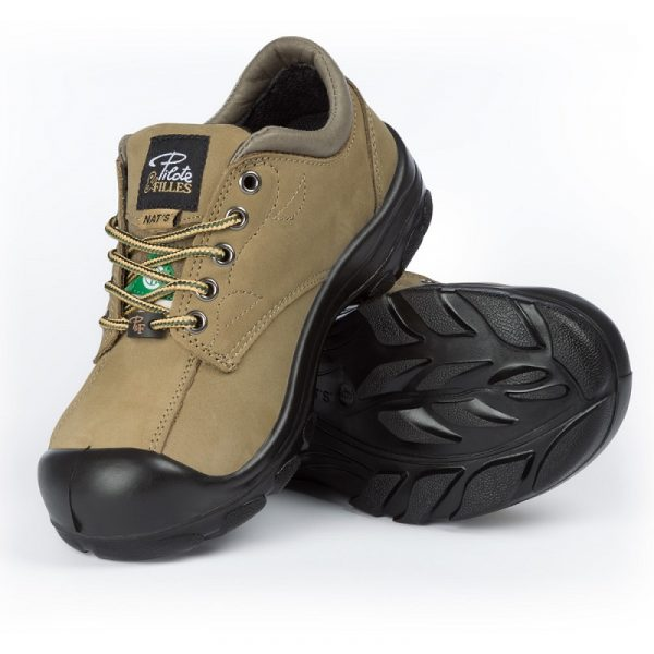 Work shoes for women | Khaki | P&F Workwear | S555
