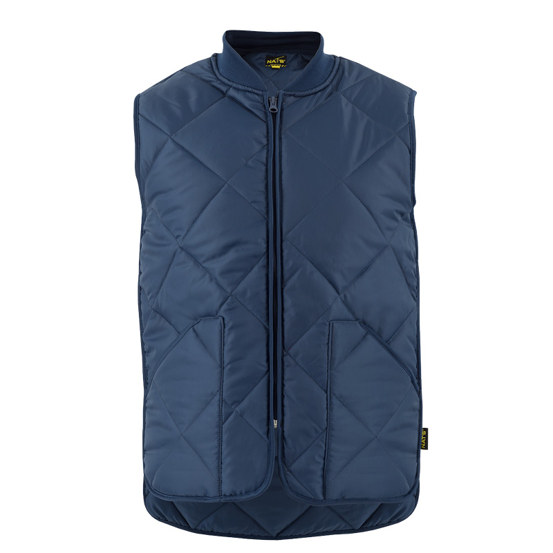 Men's padded work vest | Navy | NAT'S | WK027