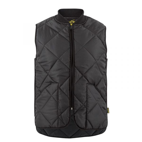 Men's paddedwork vest |Black |NAT'S |WK027