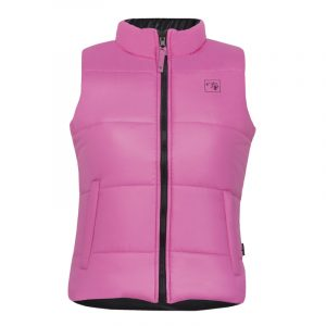 Reversible and insulated sleeveless vest for women | Pink | P&F Workwear