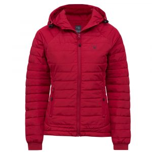 Packable jacket for women | Red | P&F Workwear | PF490