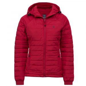 Manteau compressible pour femme | Rouge | Pilote et Filles | PF490