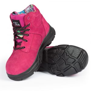 Work boots for women | Raspberry | P&F Workwear | PF686