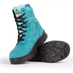 Work boots for women | Turquoise | P&F Workwear | PF688