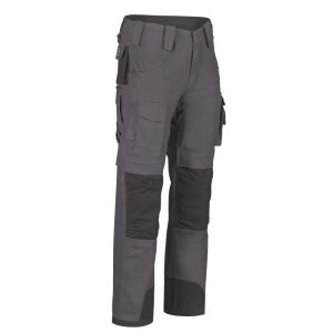 Men's multi-pocket work pant | Grey | NAT'S | WR275