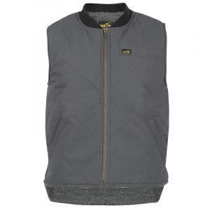 Men's lined work vest |Grey |NAT'S |WR351