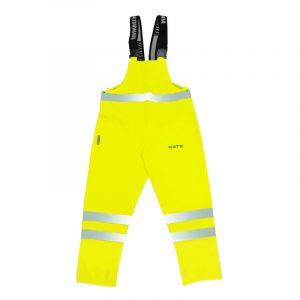 Pantalon haute visibilité imperméable | Lime | NAT'S | N842P