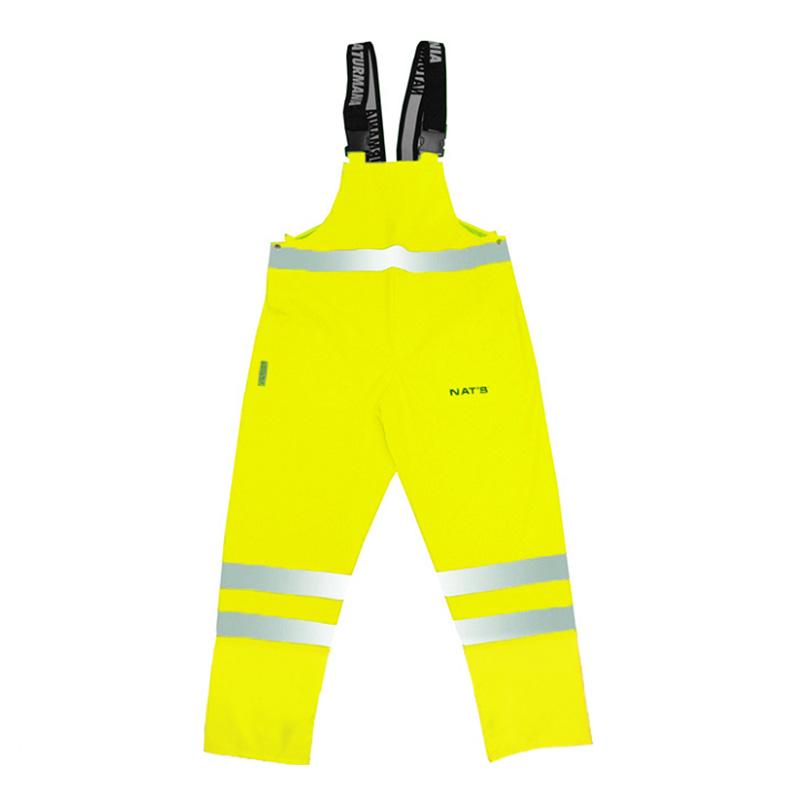 Pantalon haute visibilité imperméable   Lime   NAT'S   N842P