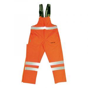 Salopette haute visibilité | Orange | NAT'S | N016P