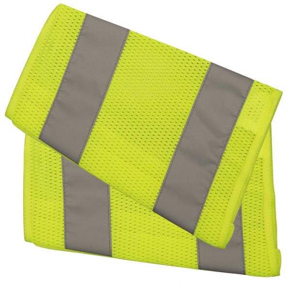 High visibility arm band with reflective stripes | NAT'S | N20B