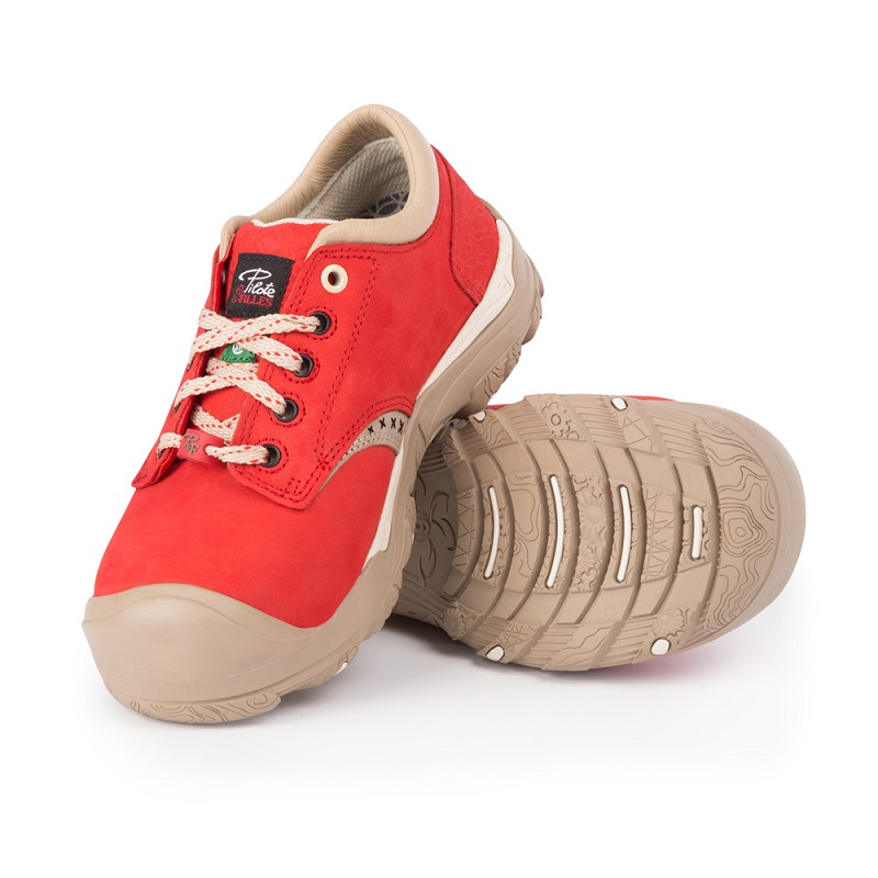 Work shoes for women | Red | P&F Workwear | PF628