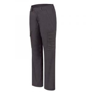 Pantalon de travail cargo extensible pour femme│Noir│Pilote et Filles│PF820