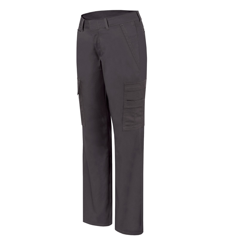 Stretch cargo work pant for women│Black│P&F Workwear│PF820