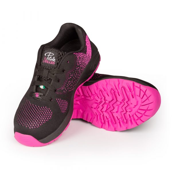 Safety running shoe for women│Pink│P&F Workwear│PF636